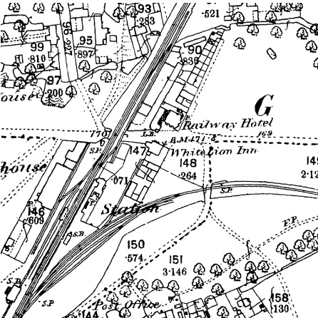 pub on old OS map