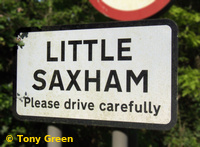 Photo from Little Saxham