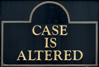 Photo of Case is Altered