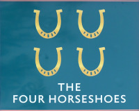 Photo of Four Horseshoes